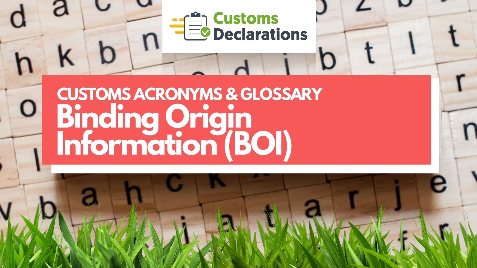 Binding Origin Information BOI